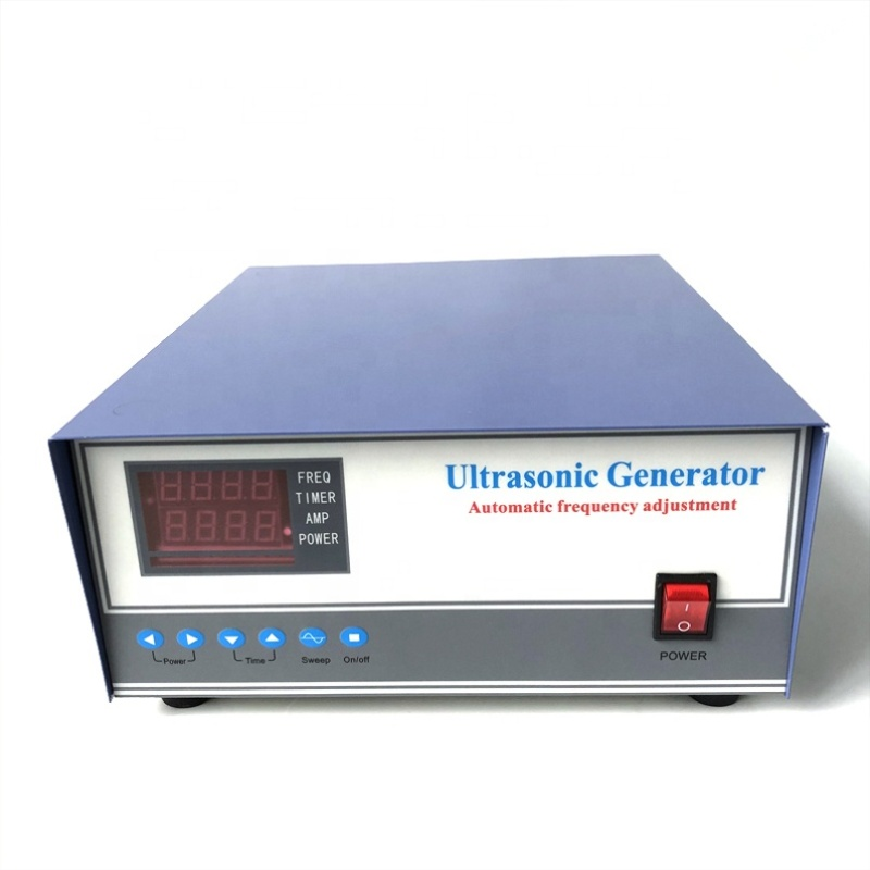 110V/220V/380V Voltage Cleaning Ultrasonic Generator Circuit Power Generator With Power And Frequency Adjustable 17K-40K 900W