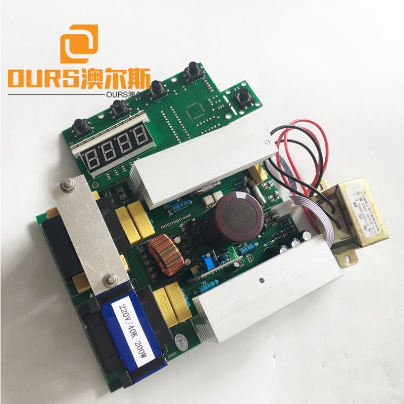28KHZ/40KHZ ultrasonic cleaner transducer electronic circuit with display board for for Ultrasonic cleaning generator
