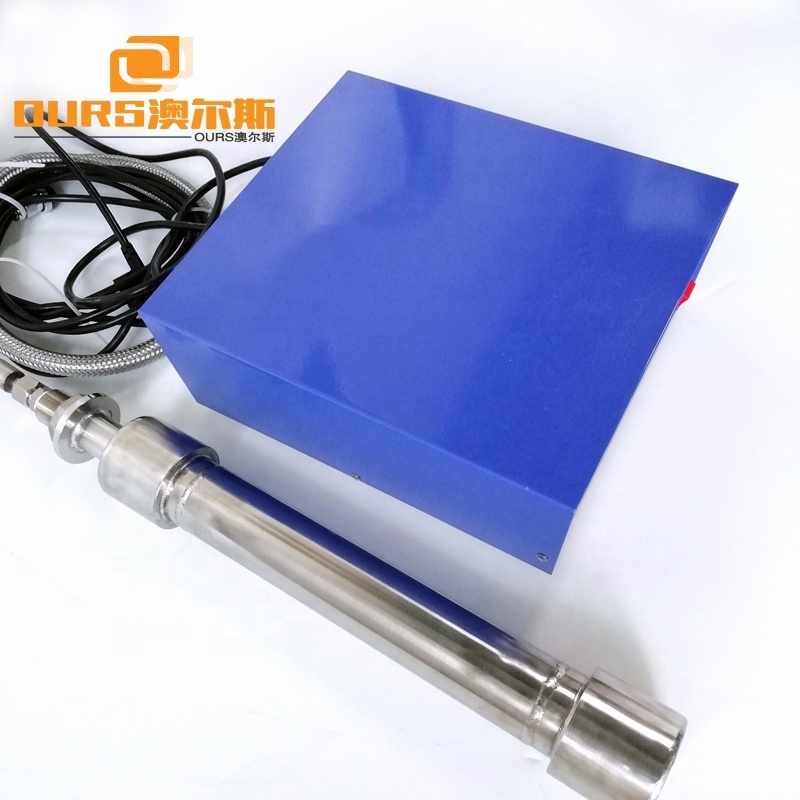 1500W Submersible Ultrasonic Transducer Vibration Tubular Rods 25KHz Underwater Ultrasonic Shock Stick For Pipe Cleaning