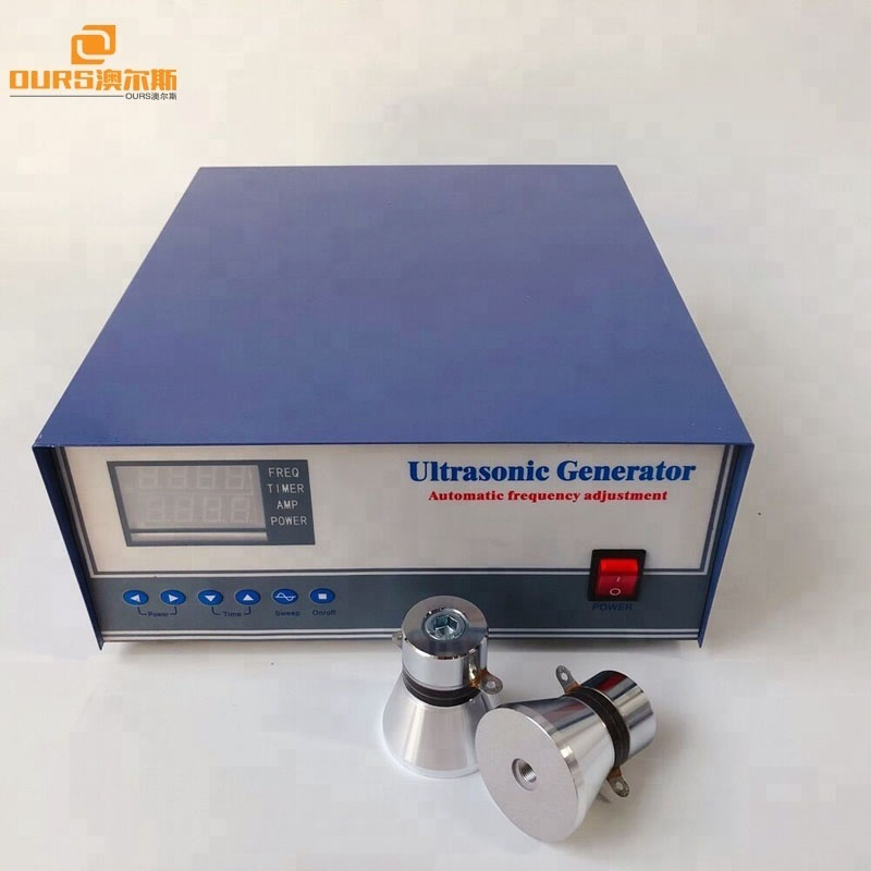 25KHz/40KHz 1200W Dual frequency two frequency digital Ultrasonic Generator for piezoelectric transducer