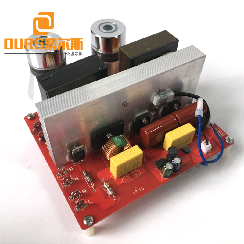 135KHZ 200W Ultrasonic Cleaner Transducer Electronic Circuit For Cleaning Laboratory Utensils