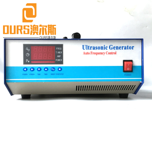 1200W Multi Frequency Ultrasonic Oscillator Sine Wave Cleaning Generator For Ultrasonic Cleaning Auto Parts