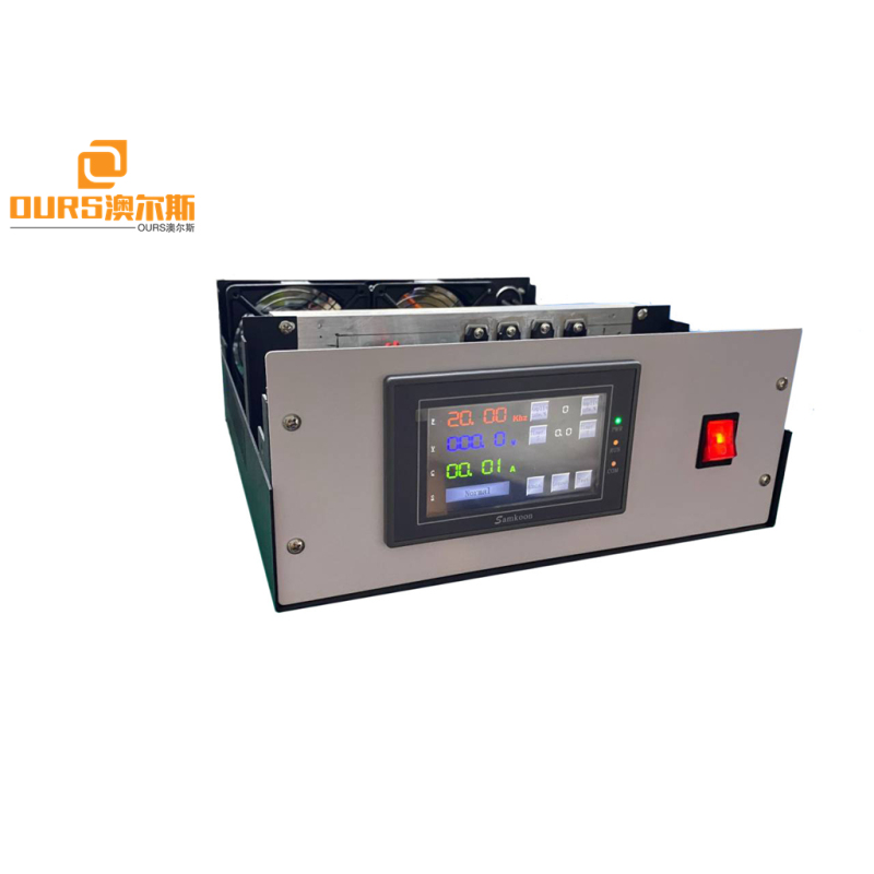 2000w 20khz Ultrasonic Welding Generator Sealing Face  With Transducer and 110*20mm horn