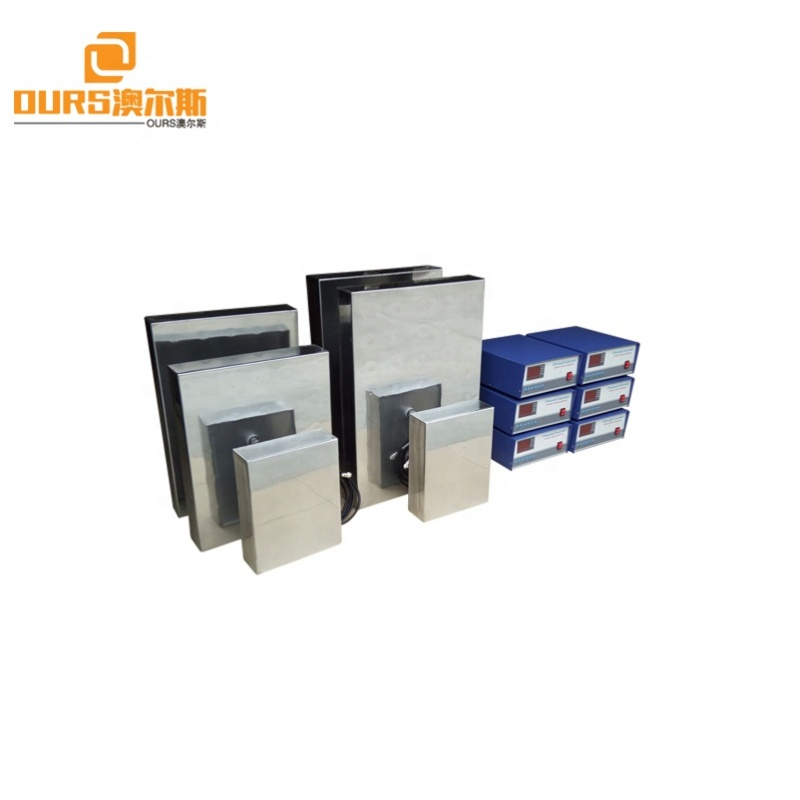 20KHz/28KHz/33KHz/40KHz Industrial Immersible 1800W Ultrasonic Cleaning Transducer Metal Box And Generator