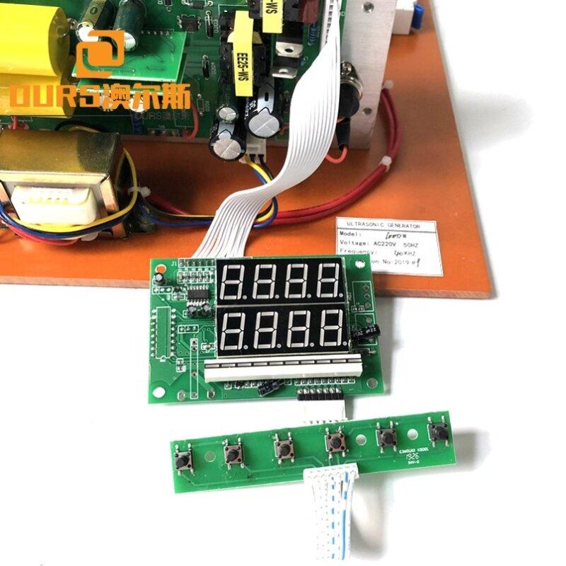 2000W Reliable Digital Driving Ultrasonic Generator Industry Ultrasonic Cleaning Equipment Power Generator Warranty 1 Year