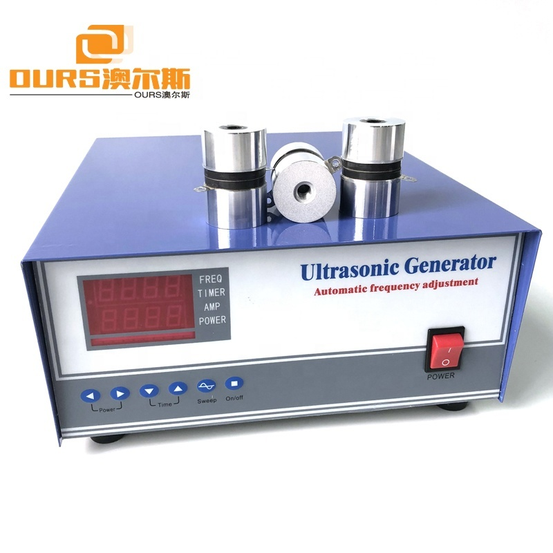 28KHz/40KHz Ultrasonic Sound 600W Digital Piezoelectric Power Generator Ultrasonic Washing Generator