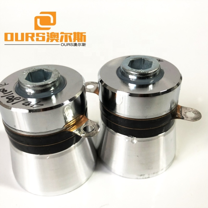 60W 40Khz/80Khz/100Khz  Tri-Frequency  Ultrasonic Washer Parts Piezoelectric Ultrasonic Cleaning transducer