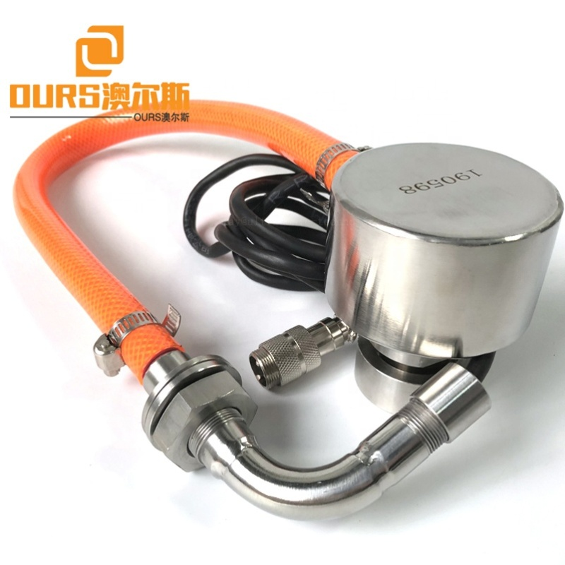 Factory High Efficiency Ultrasonic Vibrating Transducer 100W 33K For Mining Plant  Fine Powder Screen With Vibration Generator