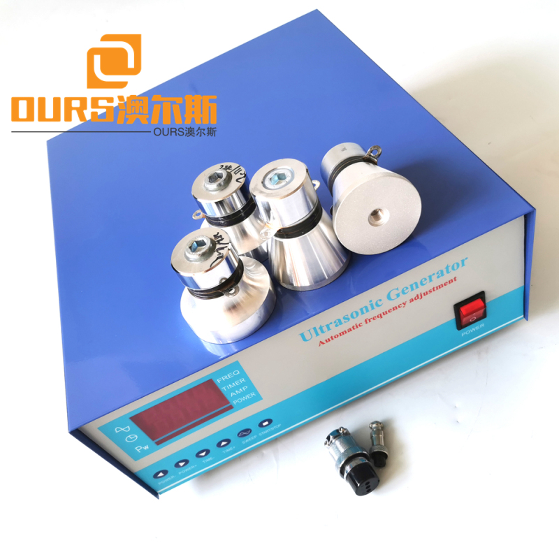 25khz Ultrasonic Generator 600W 220V Use For Submersible Ultrasonic Transducers Cleaning Machine
