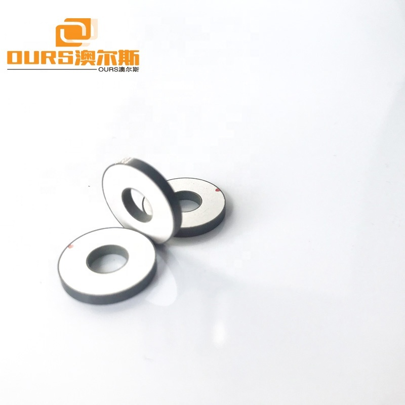 PZT4 Piezoelectric Ceramic Material Industrial 15mm*6mm*2mm Ultrasonic Piezo Ring Piezo Ceramic