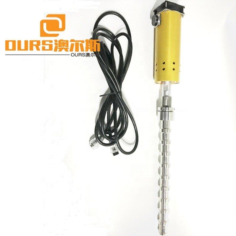500W 20K Waterproof Ultrasonic Reactor Rod Ultrasonic Equipment For Industrial Production Of Biodiesel Ultrasonic Vibrator