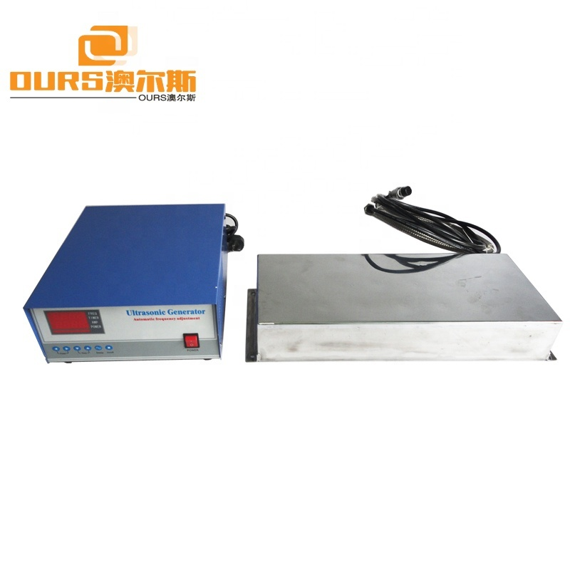 1800W Industrial Immersible Submersible Ultrasonic Transducer Vibration Plate 40KHz For Industrial Cleaning Tank