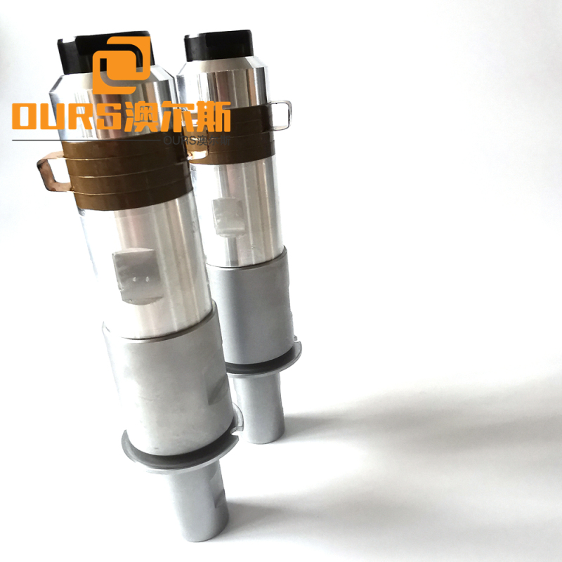 20khz Ultrasonic Welding  Transducers And Cone Booster For Face-masks Welder