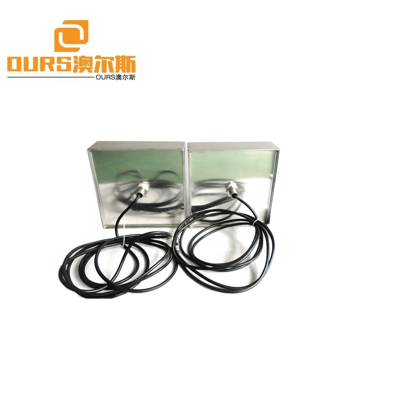 Factory OEM Customized Submersible Immersion Ultrasonic Transducer Broadband 28K 2400W Ultrasonic Cleaning Transducer
