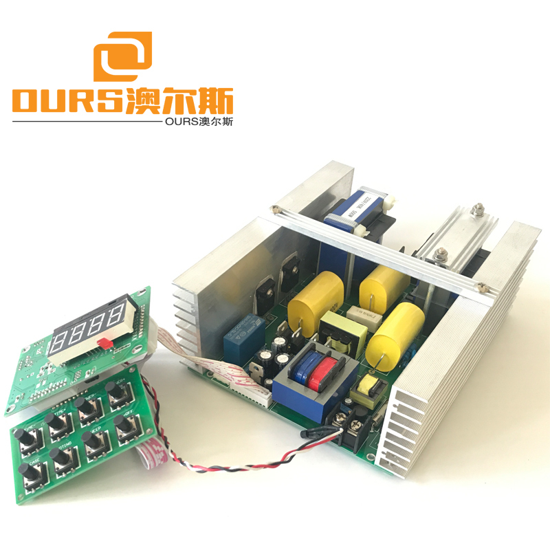 300w/400W/500W/600w Ultrasonic Generator PCB Ultrasonic Cleaner parts  with temperature controller &timer &power adjustable
