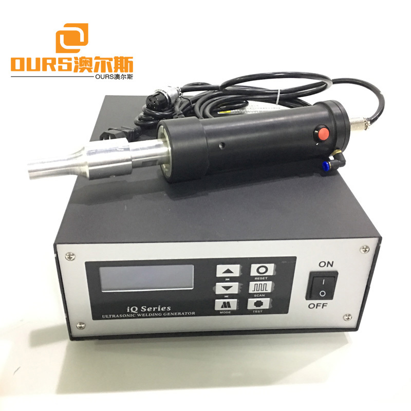 28KHz 500W Ultrasonic Handheld Plastic Welder For PE PP PVC Plastic Welding Machine