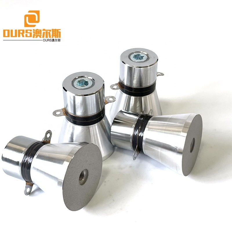 Frequency 25KHZ 60W Power Ultrasonic Oscillator Transducer For Making Industrial Oil Rust Cleaning Machine