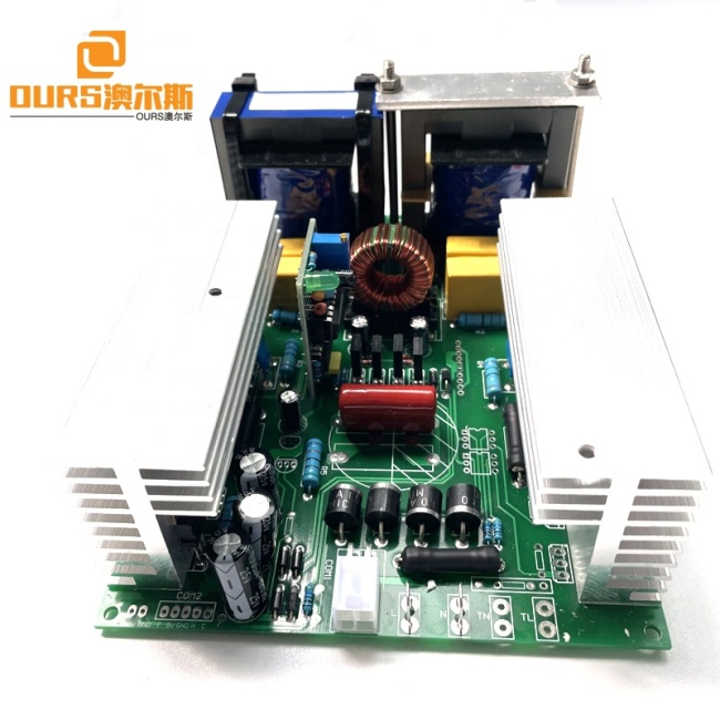 600W Samll Size DIY Ultrasonic Transducer Drive Power Generator Board Used On 20K-40K Single Frequency Cleaner