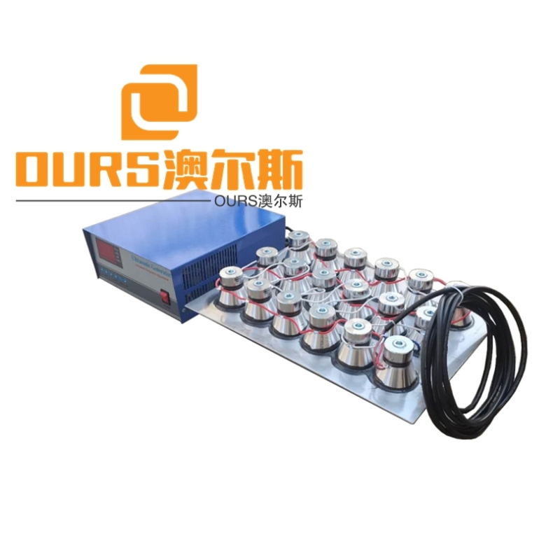 130KHZ 1000W High Frequency Ultrasonic Immersible Transducer For Cleaning Jewelry
