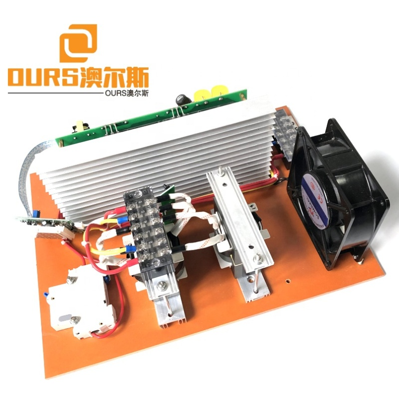 28K Or 40K 2000W Industry Ultrasonic PCB Cleaner Generator Circuit Board With Power And Frequency Adjustable As Cleaner Driver