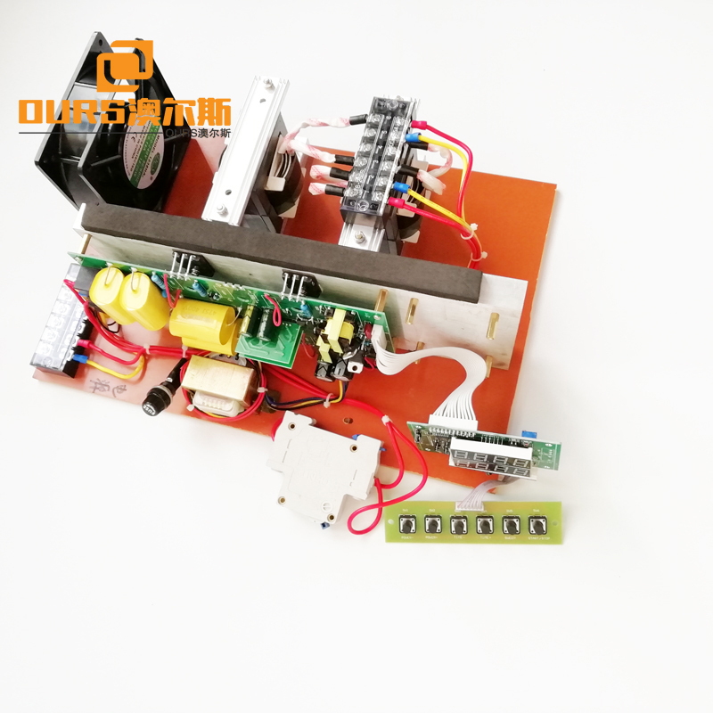 300W 75KHz High Frequency Piezoelectric Ultrasonic Generator PCB Power Supply Circuit Driver Used In Parts Cleaning