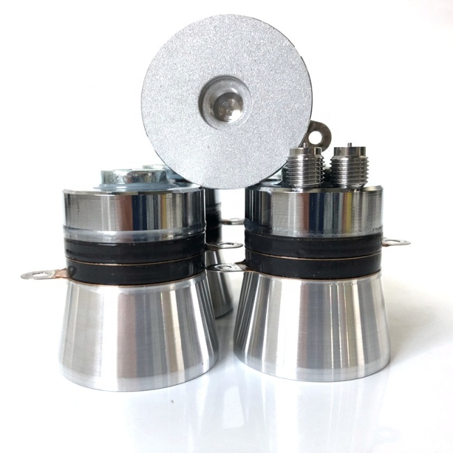 With Hole Type Industrial Cleaning Ultrasonic Transducer Low Cost Ultrasound Cleaner Wave Transducer 40K 60W Sensor/Vibrator