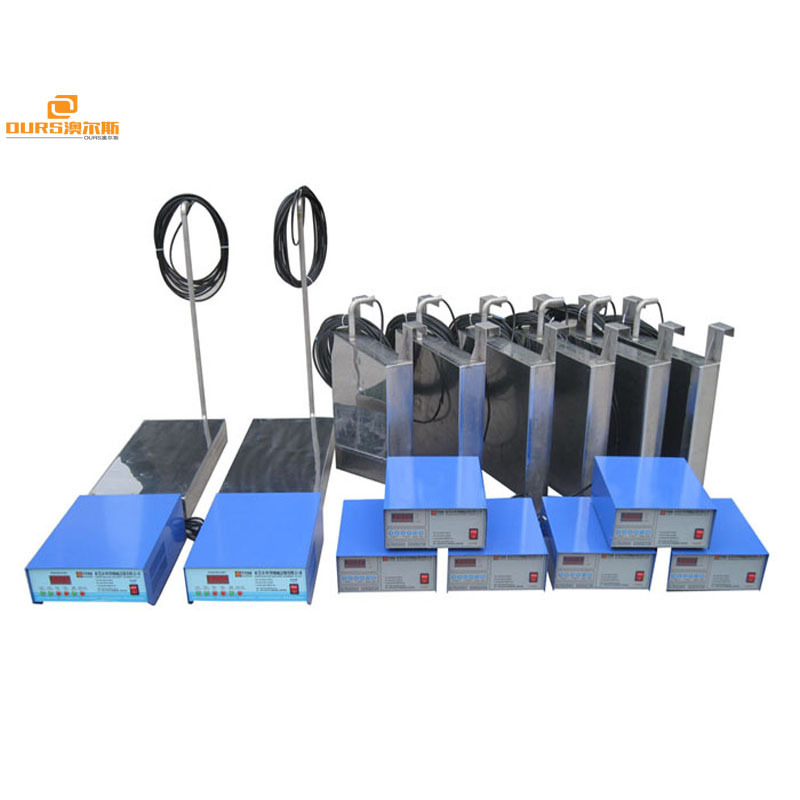 High Frequency Side Tank Mounted Immersible Ultrasonic Transducer Waterproof Vibrating Plate Box 1000W 54KHZ