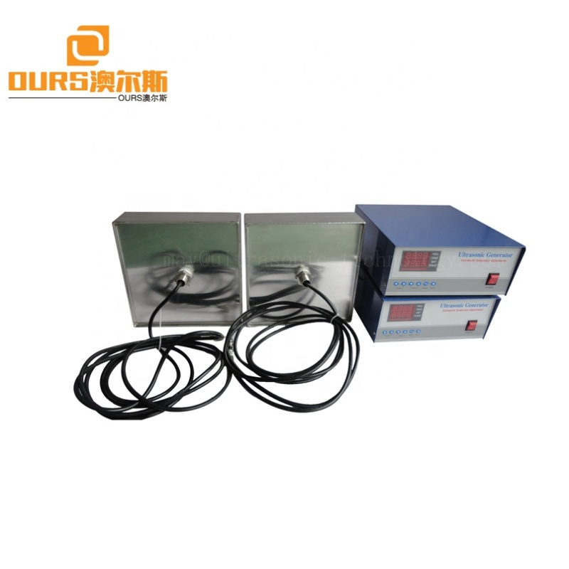 Automotive Metal Parts Cleaning Ultrasonic Device Vibration  Immersion Type Transducer 28KHZ Frequency Ultrasonic Vibrator