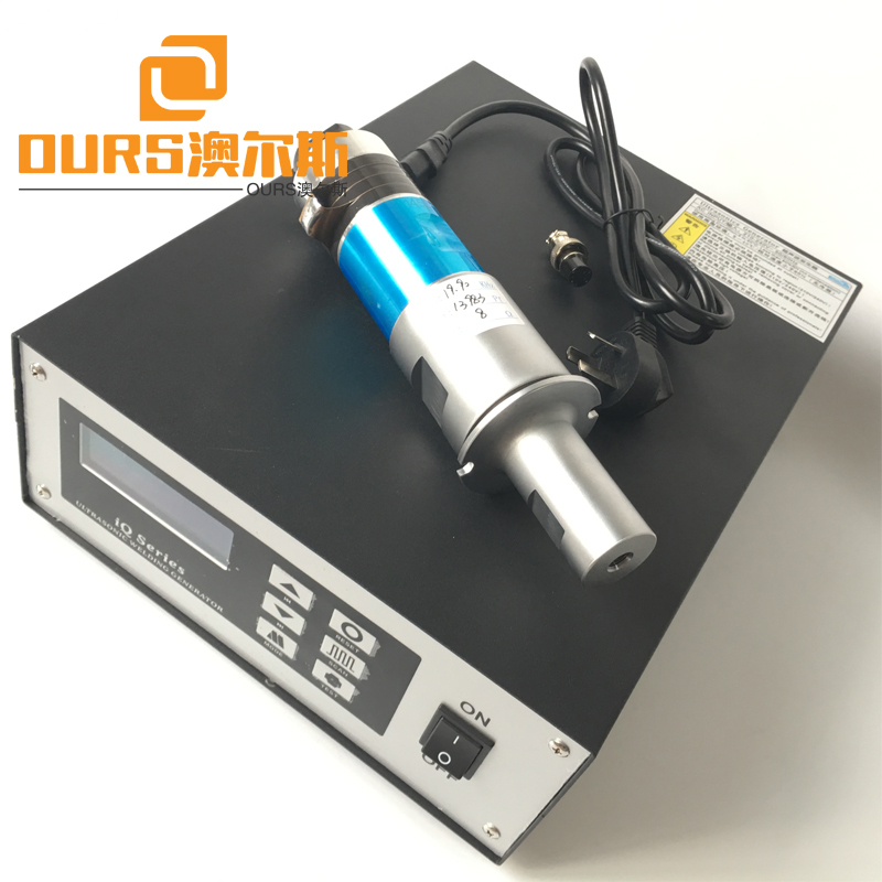 2000W Ultrasonic Welding Generator And Transducer For Face Masks Equipment