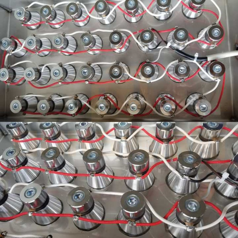 Factory Customized Ultrasonic Immersible Transducers Pack For Cleaner Tank Parts Side/Bottom/Flange Installing 40K And Generator