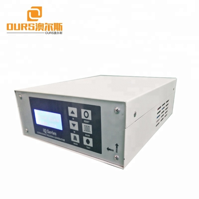 500W-3000W High power Ultrasonic welding generator for Plastic Non-woven fabrics Toothpaste shell