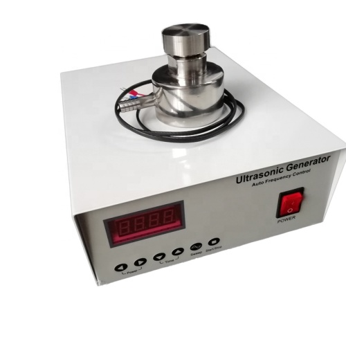 33KHz 100W Ultrasound Transducer And Generator For Ultrasonic Cleaning Vibration Screen
