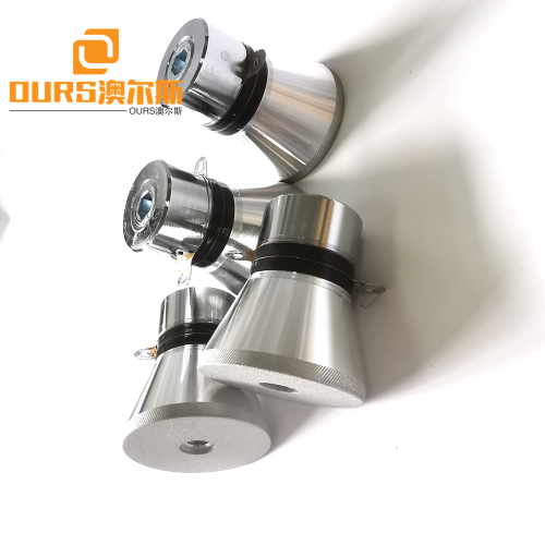 28khz 60w pzt4 Ultrasonic Sensor For Cleaner Degreasing and Rust Removal Before Electroplating
