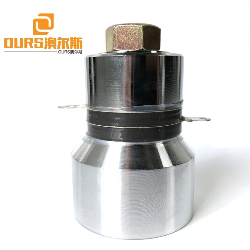 Immersible Transducer Pack Accessories Ultrasonic Cleaning Transducer Multi Frequency 33K/80K/135K Piezoelectric Transducer 40W