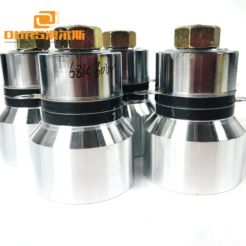 68KHz 60W Ultrasonic Cleaning Transducer For Ultrasonic Cleaning Machine