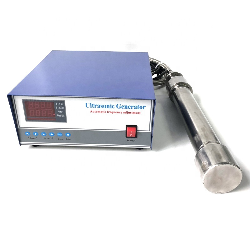 Immersible Tubular Ultrasounc Piezoelectric Reactor And Cleaning Generator For Industrial Transducer Cleaner Tank 1000Watt