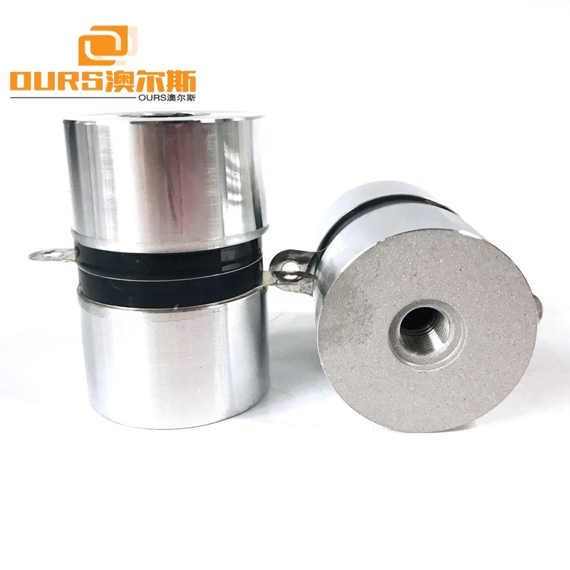 120KHz/60W High Stability Sensor High Frequency Ultrasonic Transducer For Industrial Cleaning