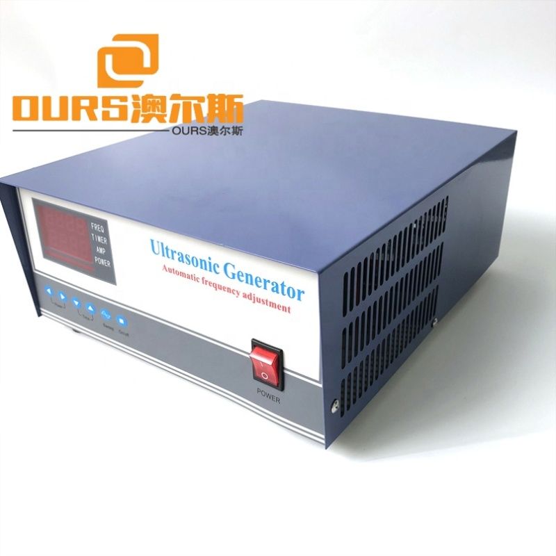 1200W Powerful Cleaner Tank Signal Generator With Sweep Function In Ultrasonic Generator For Metal Parts Ultrasonic Cleaning