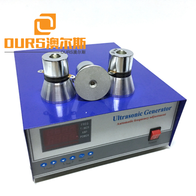 25khz Low frequency china ultrasonic transducer generator for cleaner  1800w