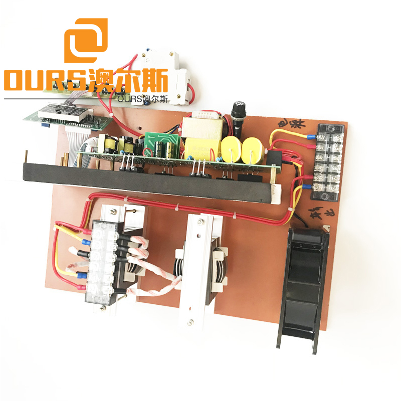 28KHZ 300W Digital Frequency Tracking Ultrasonic Sound Circuit For Driver Cleaning Vegetable Machine