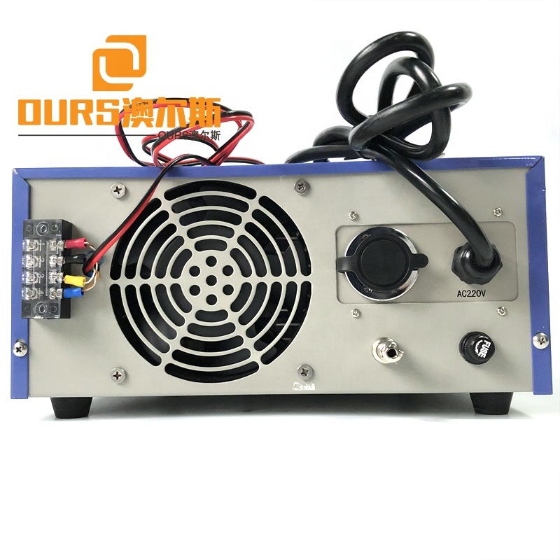 1000W RS485 Mechanical Cleaner Ultrasound Waveform Generator Frequency Tracking Mode Power Box Emission Ultrasound Wave