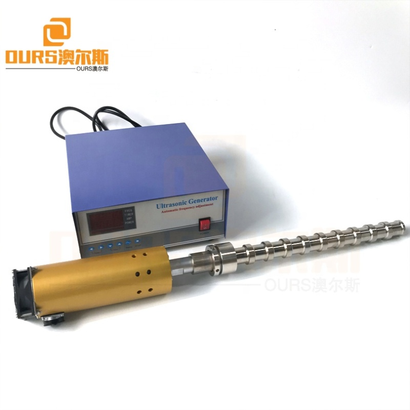 1500W 20K Industry Transducer Reaction Machine Ultrasonic Liquid Processor Reactor For Biodiesel / Pipeline Cleaning / Mixed