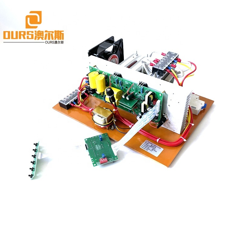 Frequency 25K 28K 33K 40K Adjustable Ultrasound Circuit Generator Board As Industrial Transducer Cleaner Power Source