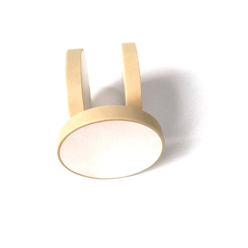 PZT-8 Piezoelectric Ceramic Materials 38*10mm  ultrasonic piezo ceramic disc