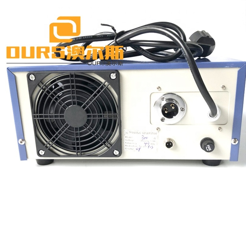 300W Low Power Digital Ultrasonic Generator 28K-40K Vibration Frequency Cleaner Ultrasonic Wave Generator/Power Source