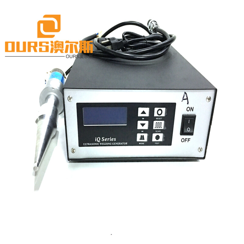 1800w Precision Ultrasonic Plastic Welding Machine For Hard Plastic Material with booster