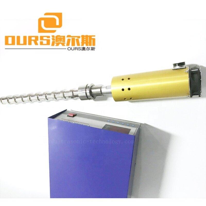 Flange Submersible Ultrasound Vibration Reactor Probe Biodiesel Sonicator Dispersion Cleaner 20K Ultrasonic Calabash Transducer
