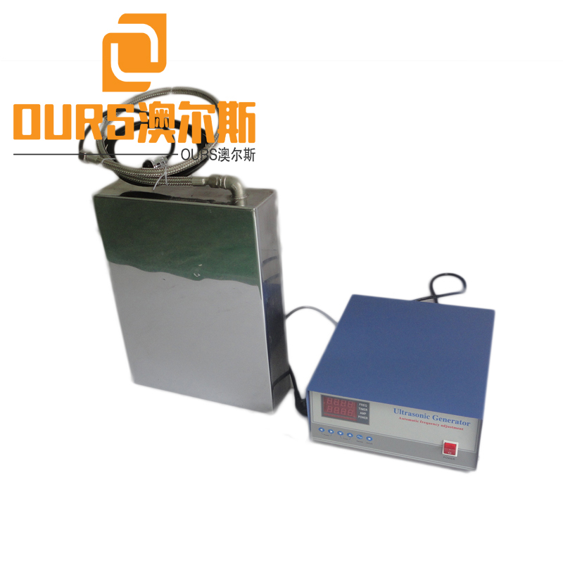 Immersible Ultrasonic Transducer Pack 20khz to 200khz for ultrasonic cleaning