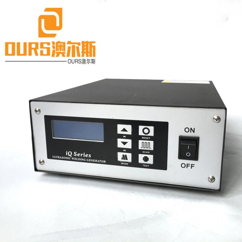 Best-selling Turkey and India 15KHZ/20khz/28KHZ Ultrasonic welding generator For Non-woven Medical  Fish Face Mask Machine