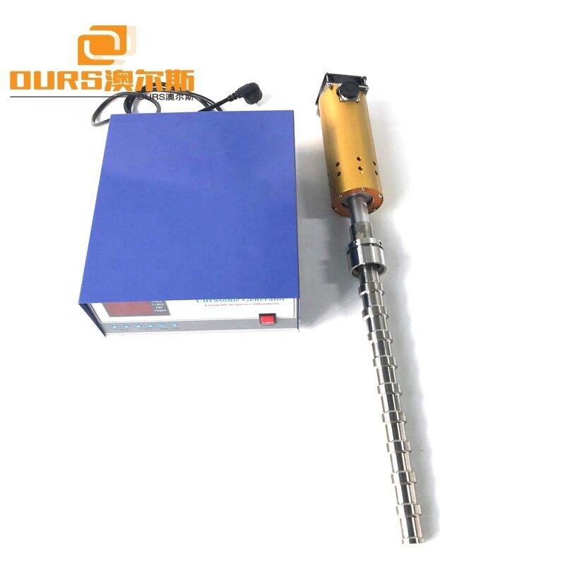1000W Titanium Ultrasonic Vibration Tube Transducer 20KHz Biodiesel Ultrasonic Transducer Tubular Reactor